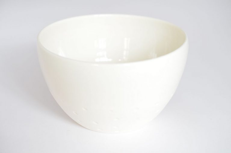 Bol porcelaine autruche