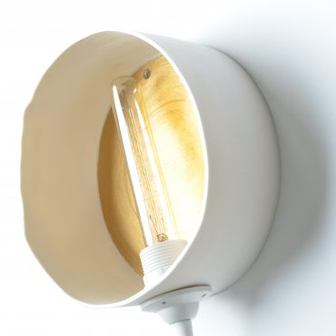 Applique baladeuse Ronde or