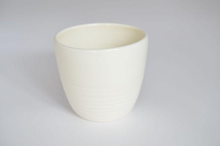 Mug porcelaine spirale