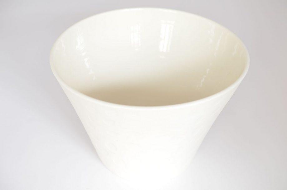 Saladier évasé porcelaine